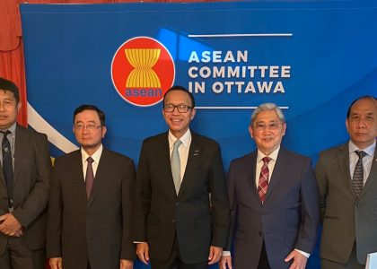 Thumbnail for the post titled: First Meeting of ASEAN Committee in Ottawa under Thailand's Chairmanship